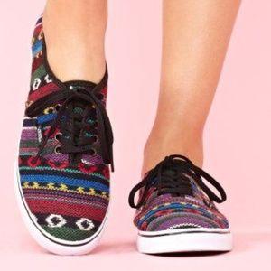 Vans Lo Pro Sneaker in Guate Stripe